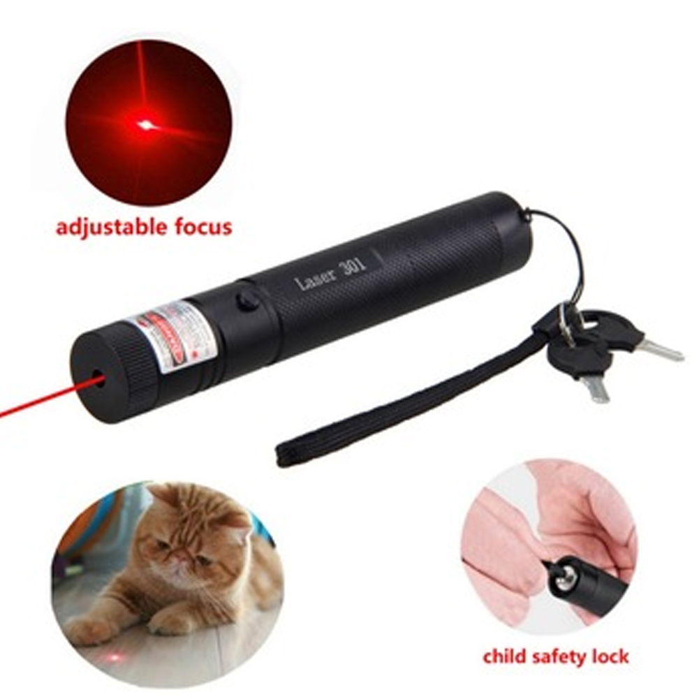 532nm/650nm/405nm Lasering Pointer Pen for Presentation Teaching Prop Red light
