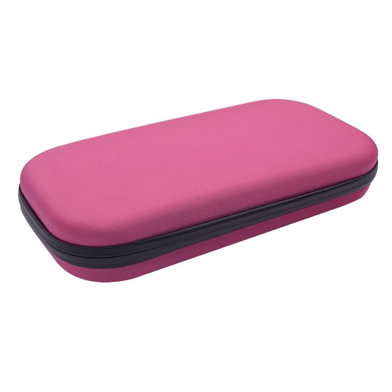 Portable Stethoscope Storage Box Carry Travel Case Bag Hard Drive Pen Medical Organizer Pink