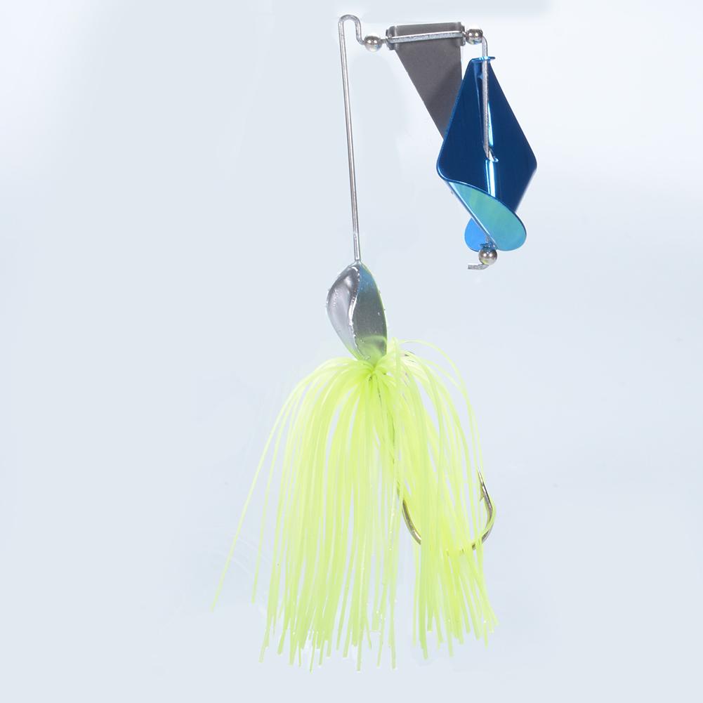 4PCS Hard Crankbait Paillette Lures Metal Spinner Bait Artificial Tassels Lures Fishing Baits 4 Pcs/Set