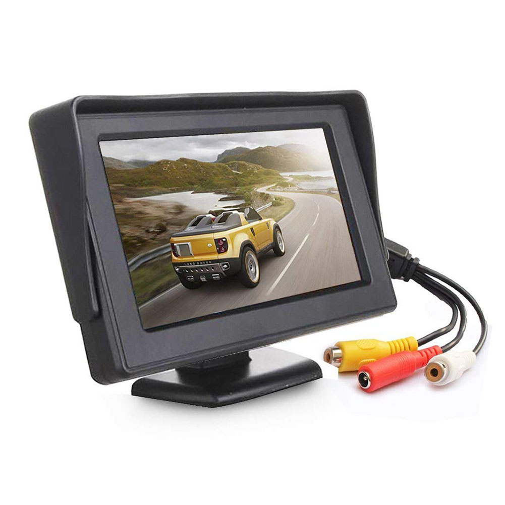 4.3 Inch TFT LCD Monitor Car Rearview