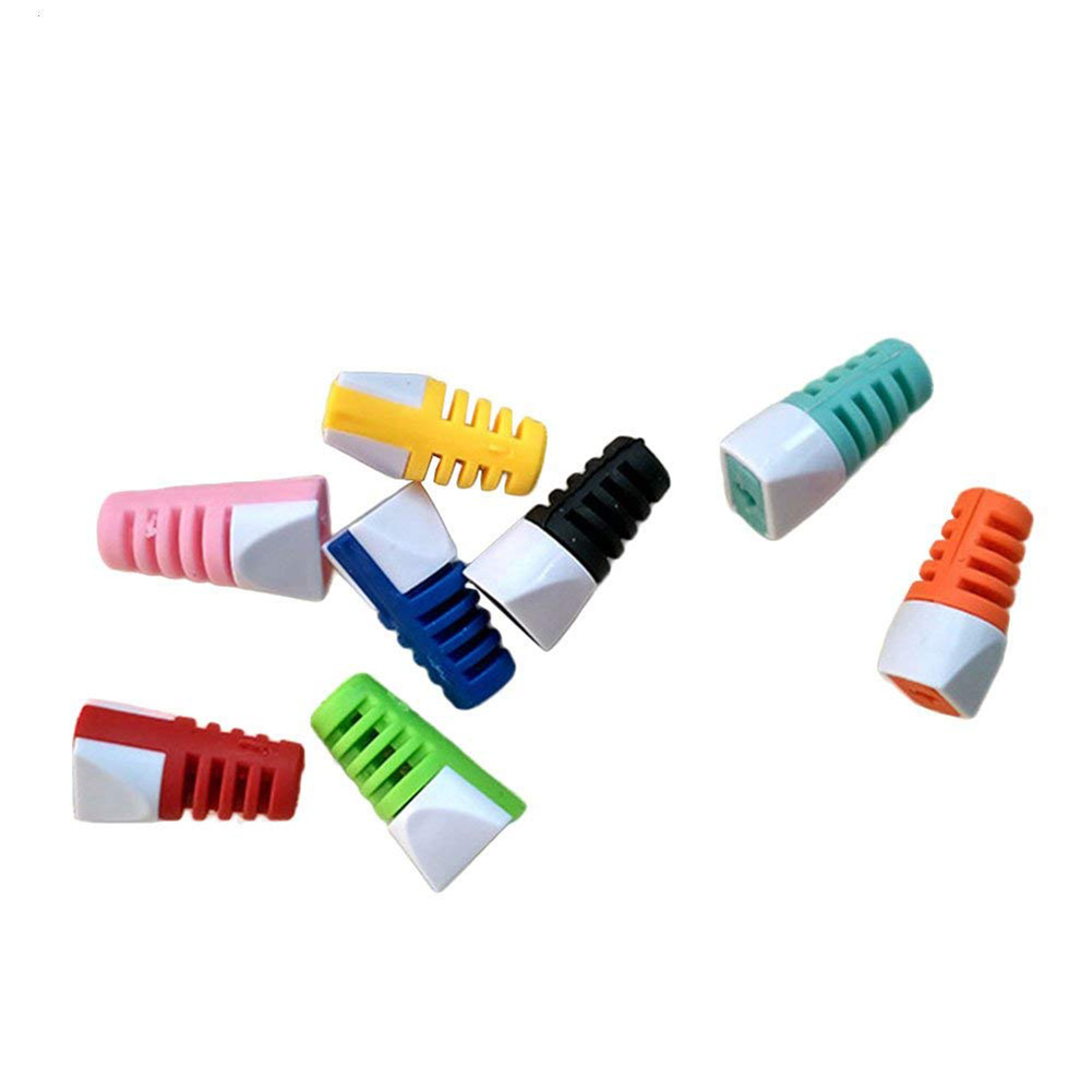 [EU Direct] 8 Pcs Cable Protector Saver Cover for Apple Android Universal Charging Cable Random Color Random Color