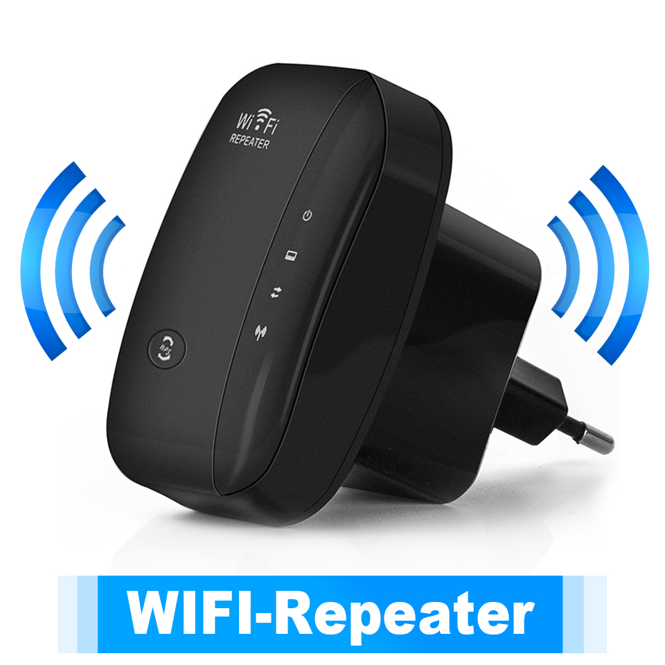 ABS 300M  WIFI Repeater Computer Networking Range Extender Wireless Signal Booster AP Repeater British regulatory