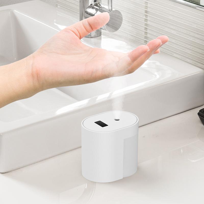 Automatic Sprayer Sensor Hand Cleaner Sterilizer for Home Hand Cleaner Sprayer white