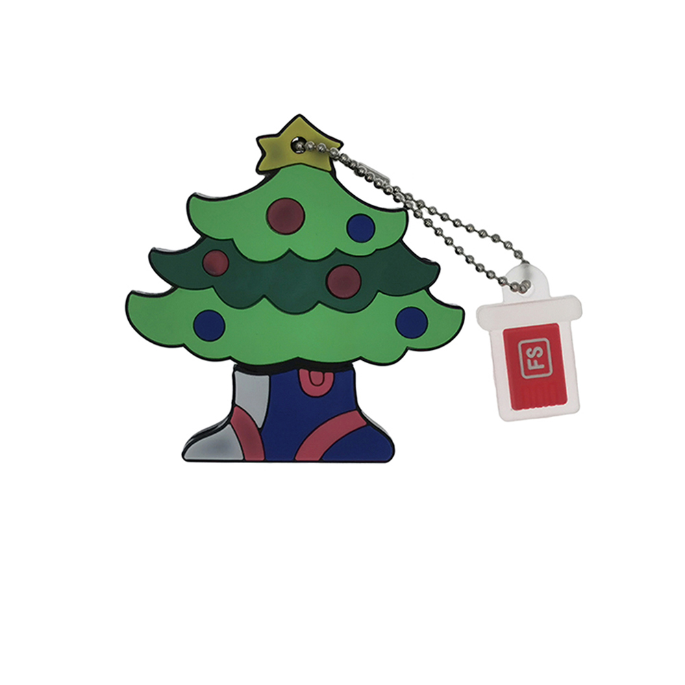 Christmas Tree USB Flash Drive -Green 16GB
