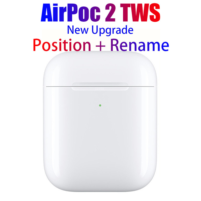 TWS Bluetooth Earphones Wireless Headphone Super Bass Sound Quality Support for Siri Control Sports Heatset white