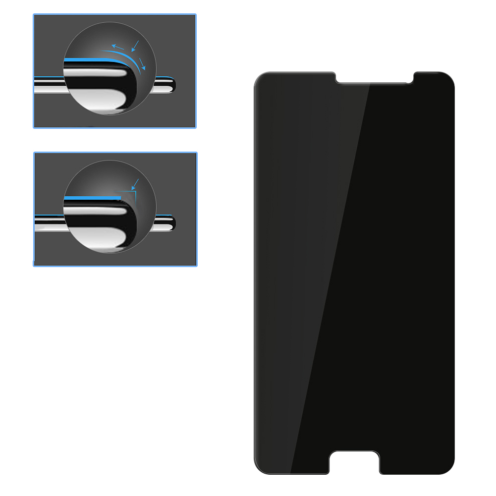 For XIAO MI Redmi Pro 0.3mm 2.5D Arc Edge Anti-peeping Full Protective Tempered Glass Film