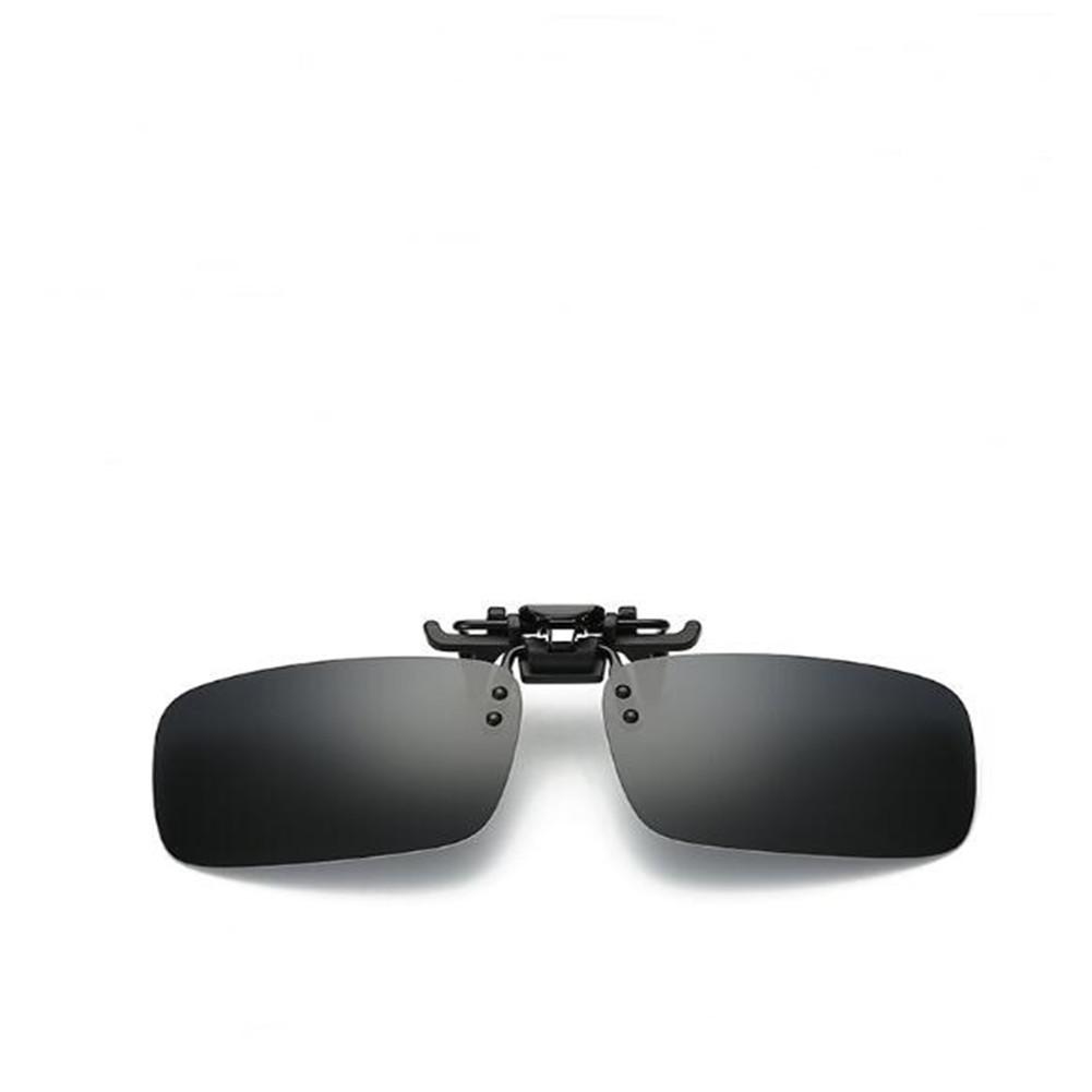 Clip On Style Sunglasses UV400 Polarized Fishing Eyewear Day Time / Night Vision Glasses