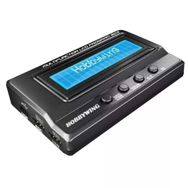 Hobbywing Upgraded 3 In1 Multifunction Professional LCD Program Box for ALZRC Devil 380 as shown
