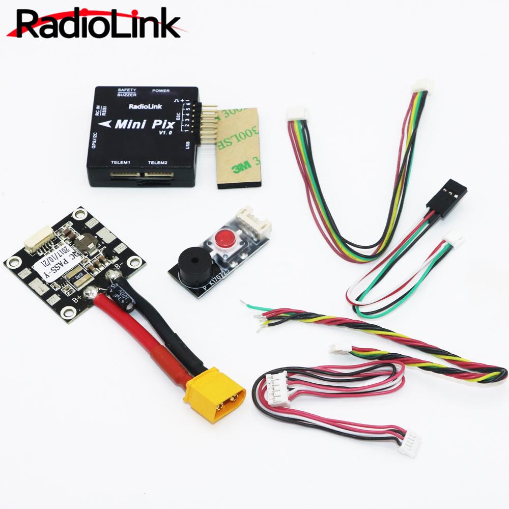 Radiolink Mini PIX Flight Control V1.0 Top Configuration Vibration Damping by Software Atitude Hold for Pixhawk RC Racer Drone MINI PIX
