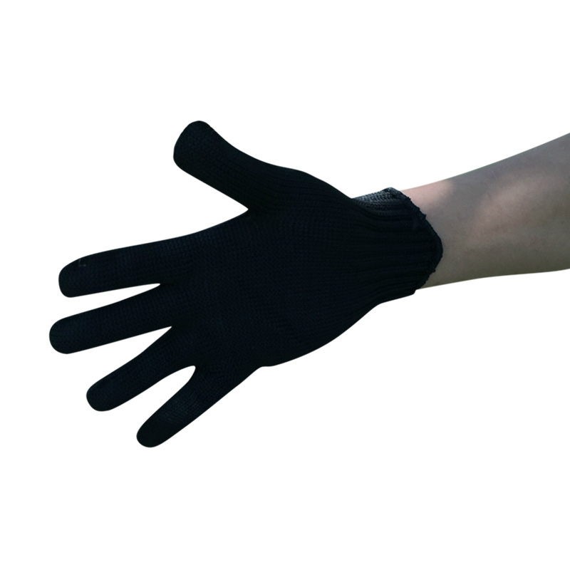 Professional Level 5 Protection Cut Resistant Safety Gloves Stainless Steel Wire Mesh Gloves