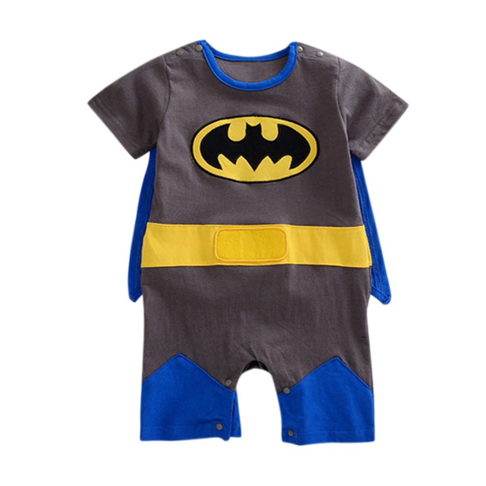 Newborn Baby Cartoon Jumpsuit Unisex Cute Long Sleeve Romper with Cloak