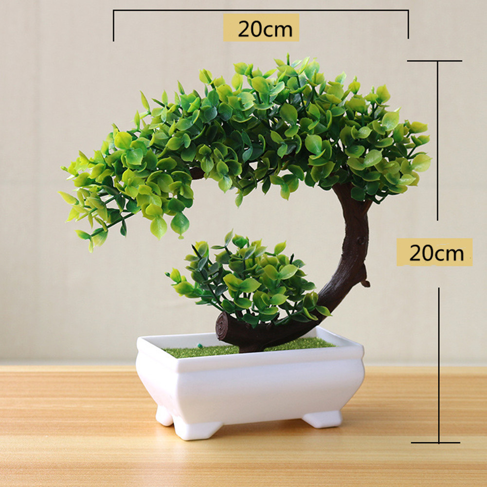 Artificial Plant Bonsai for Home Dining-table Office Decoration No flowers