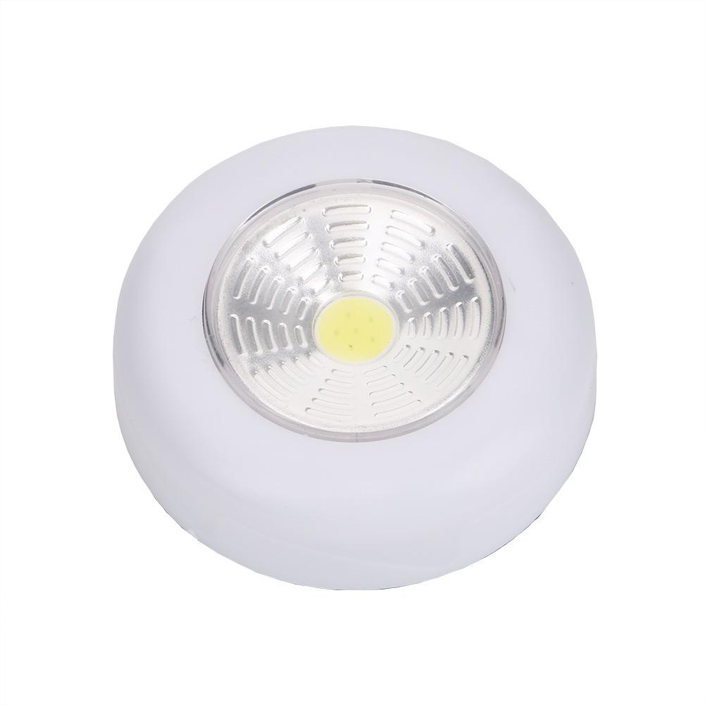 Cute Round LED COB Night Light Cabinet Corridor Lamp Decoration White light