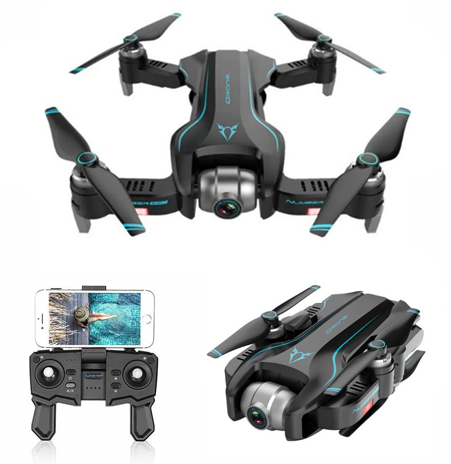 S20 WIFI FPV With 4K HD Camera GPS Positioning Mode Intelligent Foldable RC Drone Quadcopter RTF 3 battery