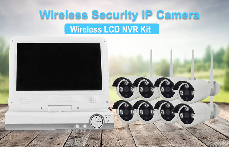 8 Channel NVR Kit wifi