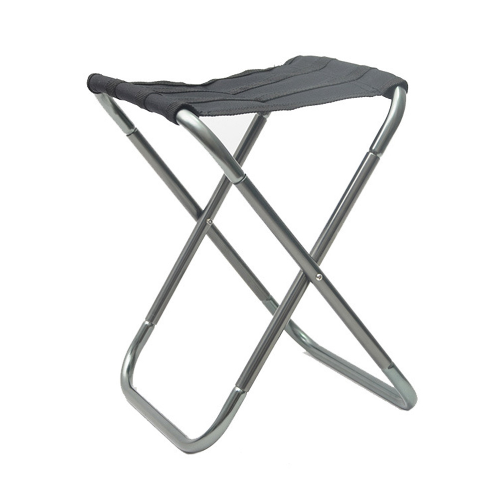 Large Camping Fishing Chair Picnic Padded Folding Stool Seat Outdoor Beach gray