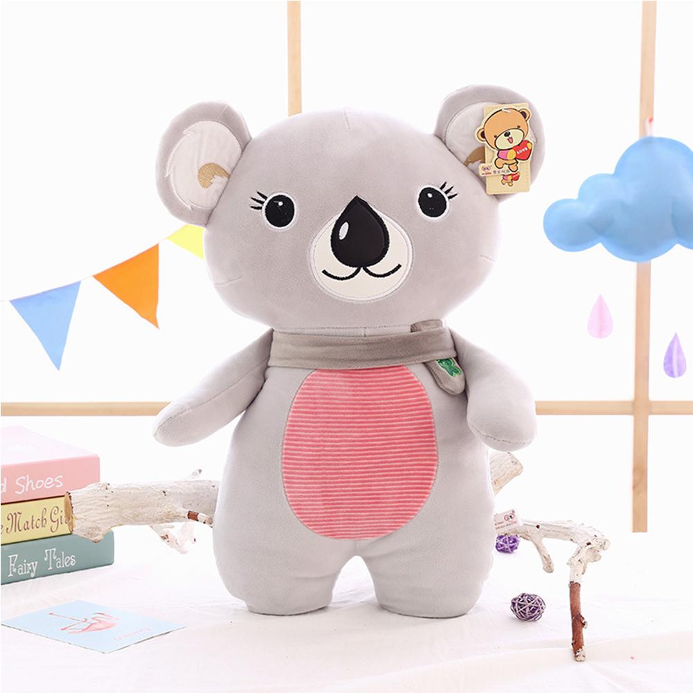 Lovely Shu Velveteen Stuffed Simulation Animal Pillow Soft Plush Doll Cartoon Toy Birthday Present Holiday Gift for Boys and Girls