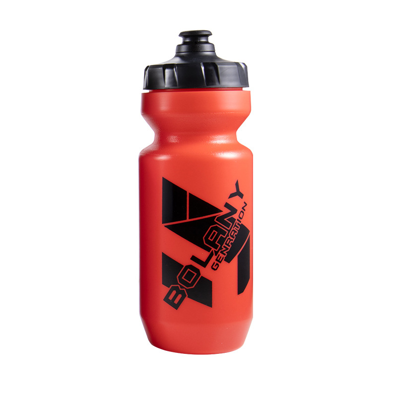 610ml Bike Water  Bottle Bicycle Beverage  Container For Outdoor Riding Fitness Trainig red