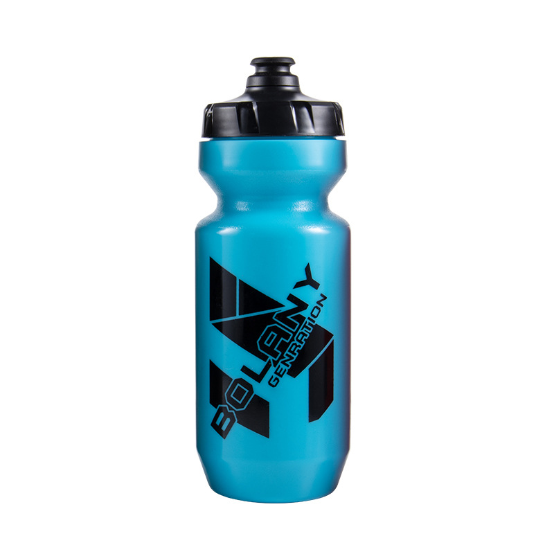 610ml Bike Water  Bottle Bicycle Beverage  Container For Outdoor Riding Fitness Trainig blue