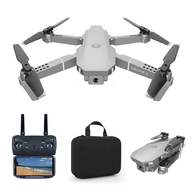 E68 pro  2.4G Selfie WIFI FPV With 4K HD Camera Foldable RC Quadcopter RTF Quadcopter height to maintain drone Toys Kid 1080P