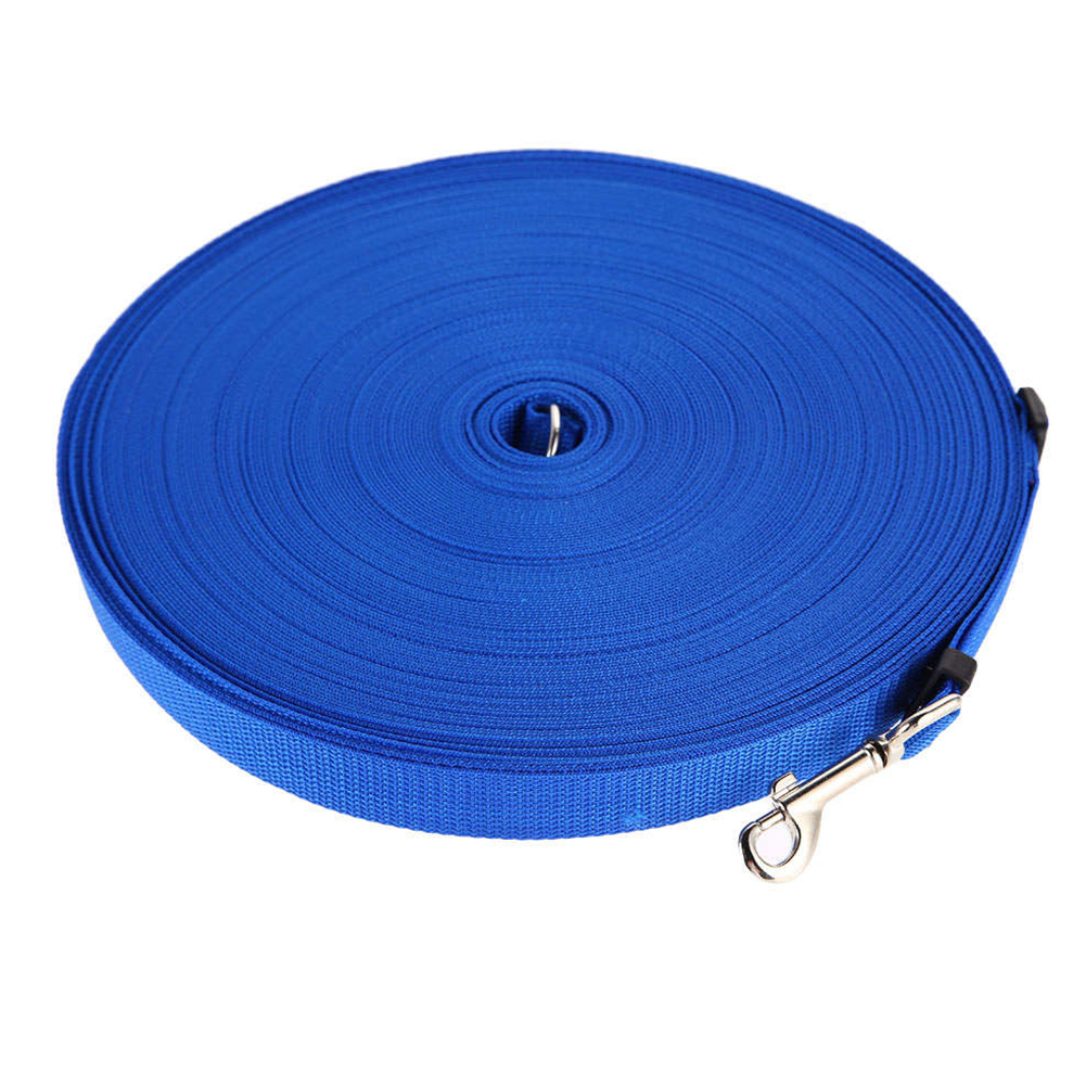 Adjustable Pet Training Leash for Outdoor Cat Dog Walking Control blue_15m