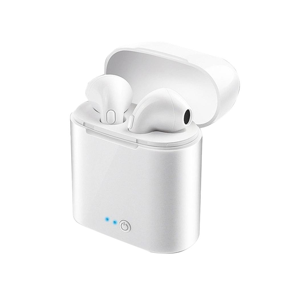 Mini Wireless Earbuds Earphone White