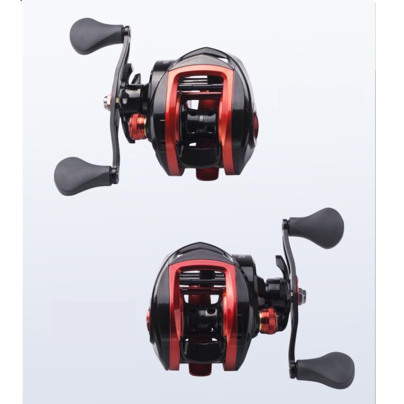 Fishing Reel Full Metal Spool Anti-explosion Line Raft High Speed Ratio Low-profile Reel 10.1 Speed ratio left hand
