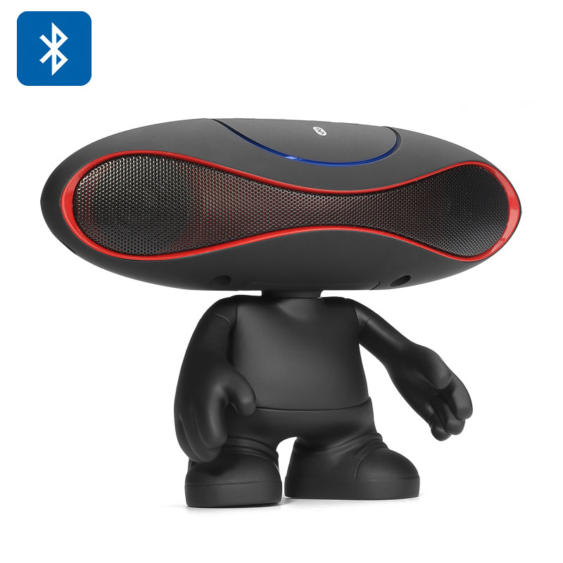 Football Doll Bluetooth Speaker (Black)