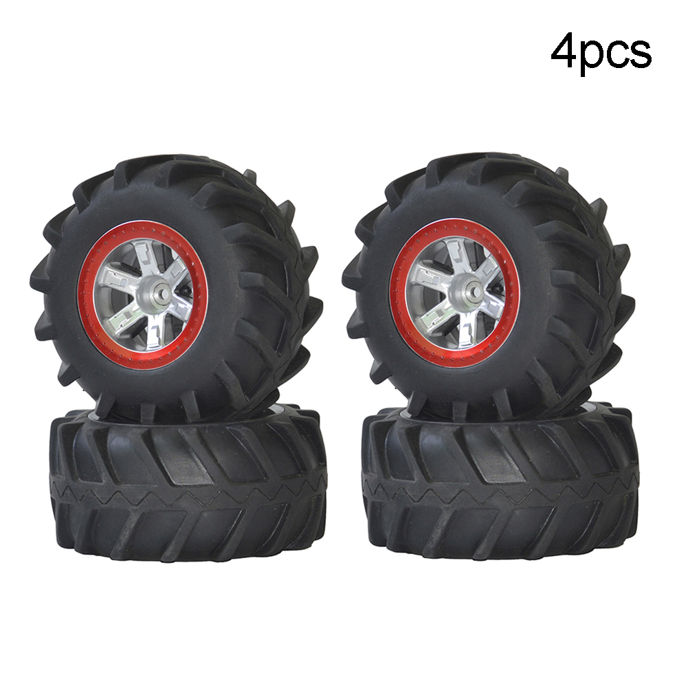 2PCS/4PCS Rubber Upgraded Tyres Spare Parts for S911 9115 1/12 RC Off-road Car Toy New 4PCS