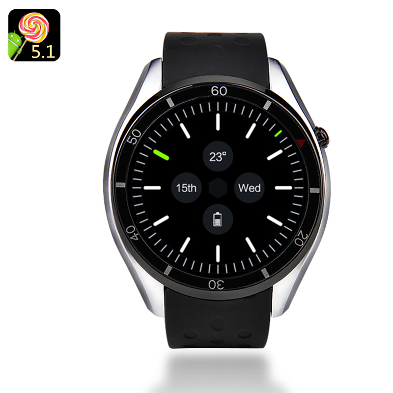 IQI I3 Android Smartwatch (Silver)