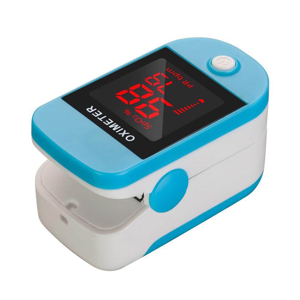 Finger Clip Pulse Oximeter Home Portable Blood Oxygen Saturation Meter Blood Oxygen Detector random_Boxed