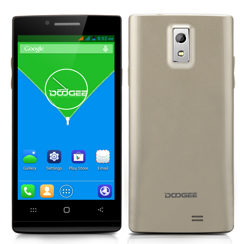 DOOGEE Latte DG450 Quad Core Phone (Gold)
