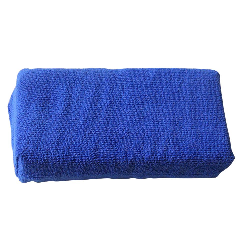 4 Pcs Professional Ultra Soft Microfiber Car Washing Sponge No Scratches Car Cleaner Tool