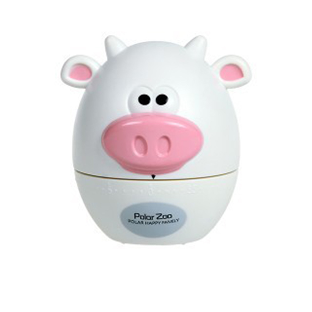 Kitchen Timer Cute Animal Model Kitchen Timer Mechanical Alarm Clock Without Battery Reminders Timer White cow