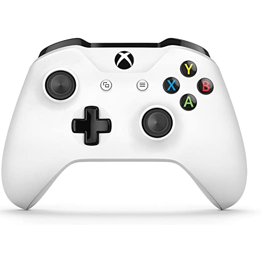 Wireless Gamepad Controller Console Joystick for Xbox One X / One S Win7/8/10 PC white