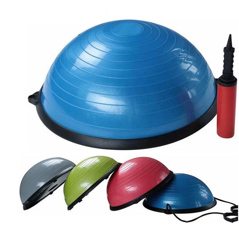 Fitness Balance Ball Trainer Anti-Burst Ball for Yoga Pilates Random Color