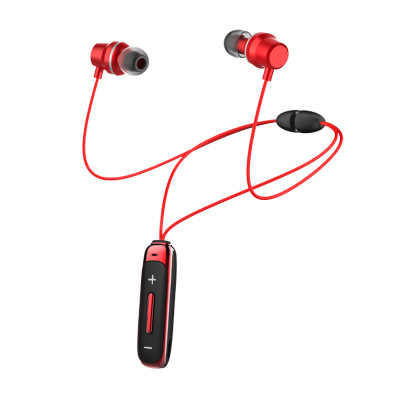 Bt315 Bluetooth  Headset With Microphone Bass Sports Magnetic Headset In-ear Wireless Earbuds red
