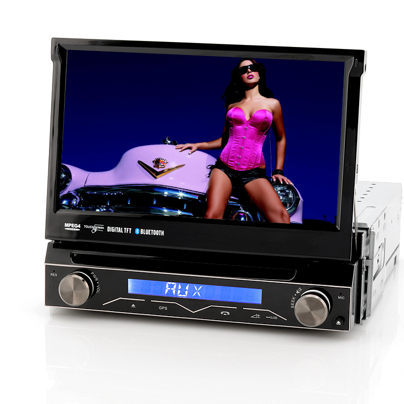 wholesale 7 inch car dvd player 1 din card dvd player. Black Bedroom Furniture Sets. Home Design Ideas