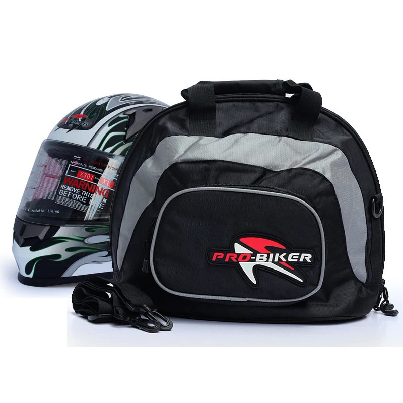 Motorcycle  Luggage  Bag Handbag For Full Helmet Motorcycle Storage Container black