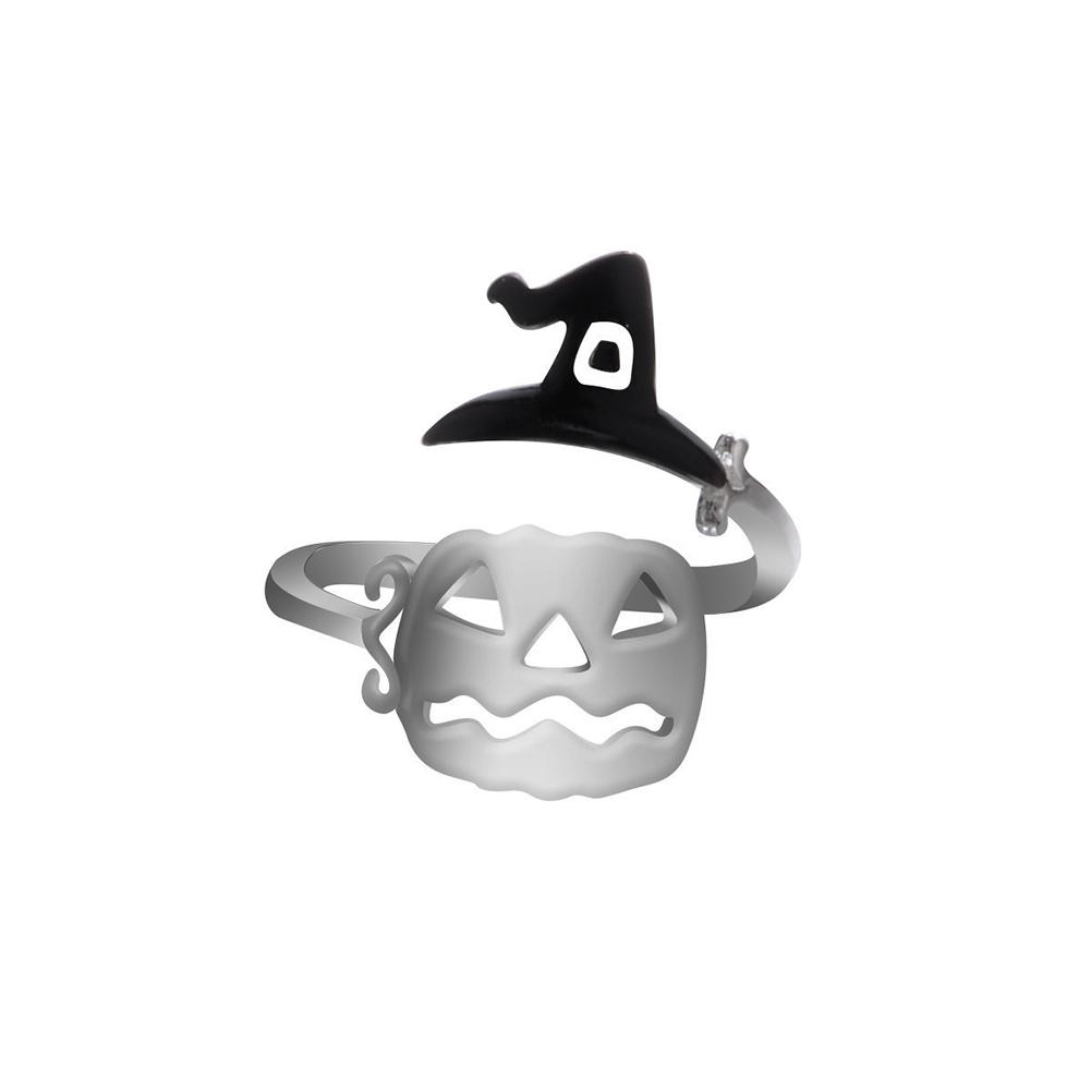 Opening Type Adjustable Ring Halloween Elements Ring 5#_Opening adjustable