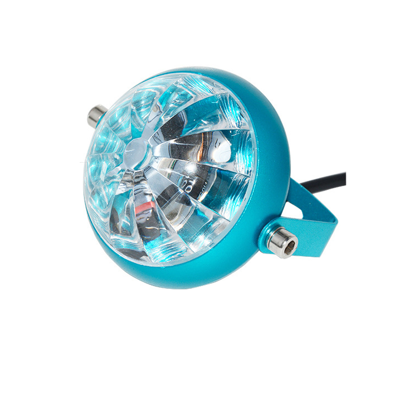 15W 4500k LED Chassis Lamp Flashing Projection Light Refit Accessories for Motorcycle Car