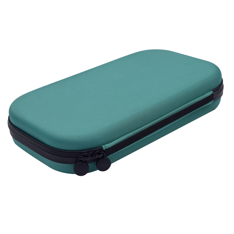 Portable Stethoscope Storage Box Carry Travel Case Bag Hard Drive Pen Medical Organizer green