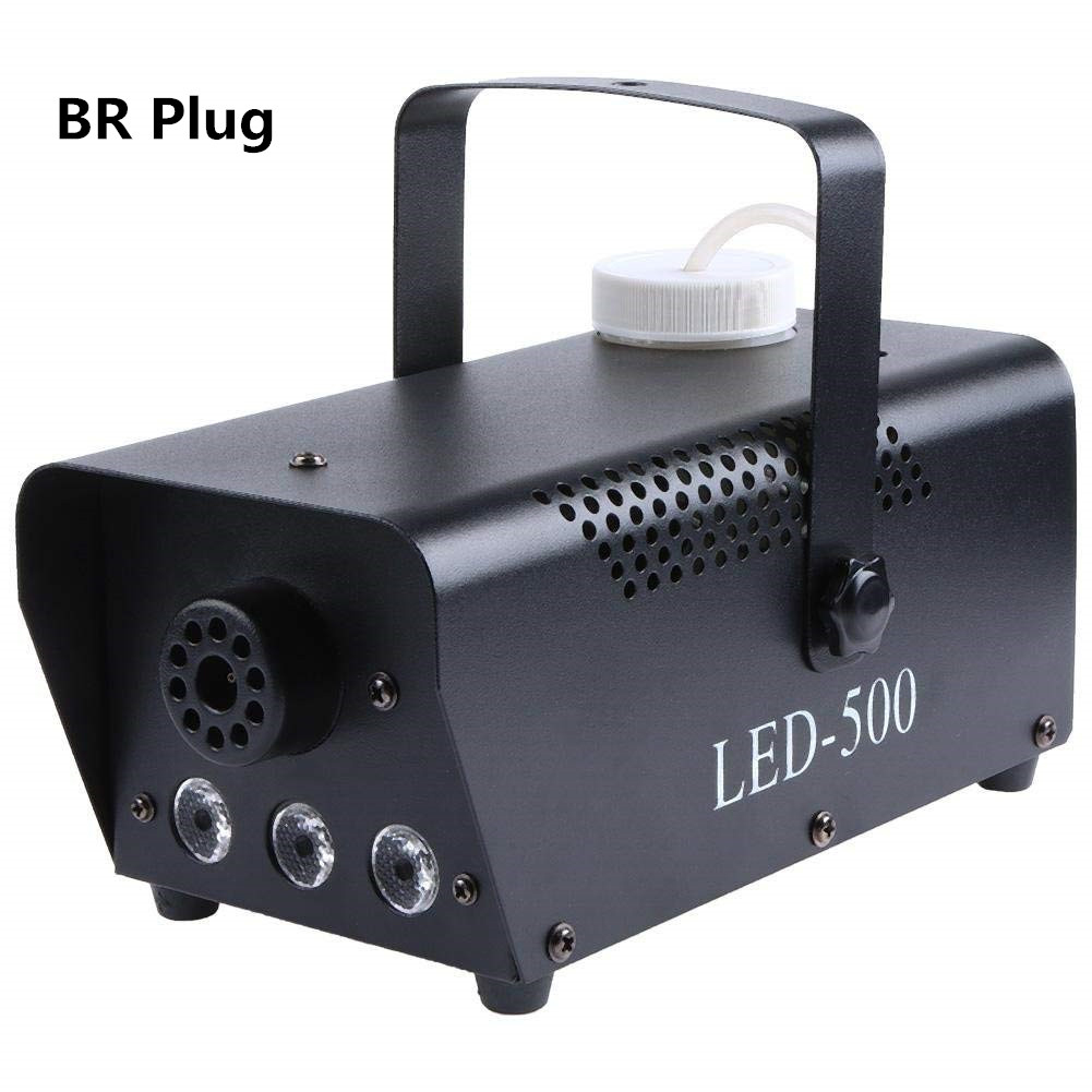 LED 500W Air Column Smoke Machine with Wireless Control Fog Machine Fogger Stage Smoke Ejector British regulation