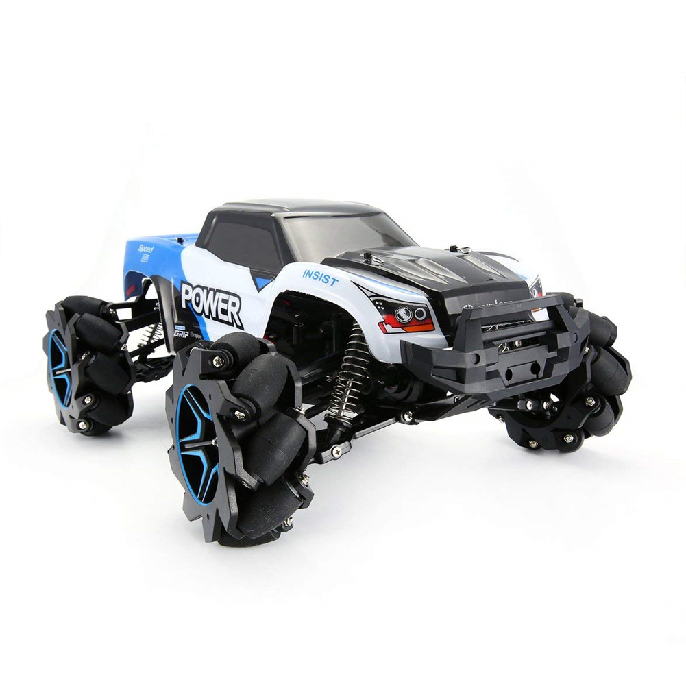 1:12 High-speed Drift Car Remote Control Off-road Climbing Car 2.4G Four-wheel Drive Car blue