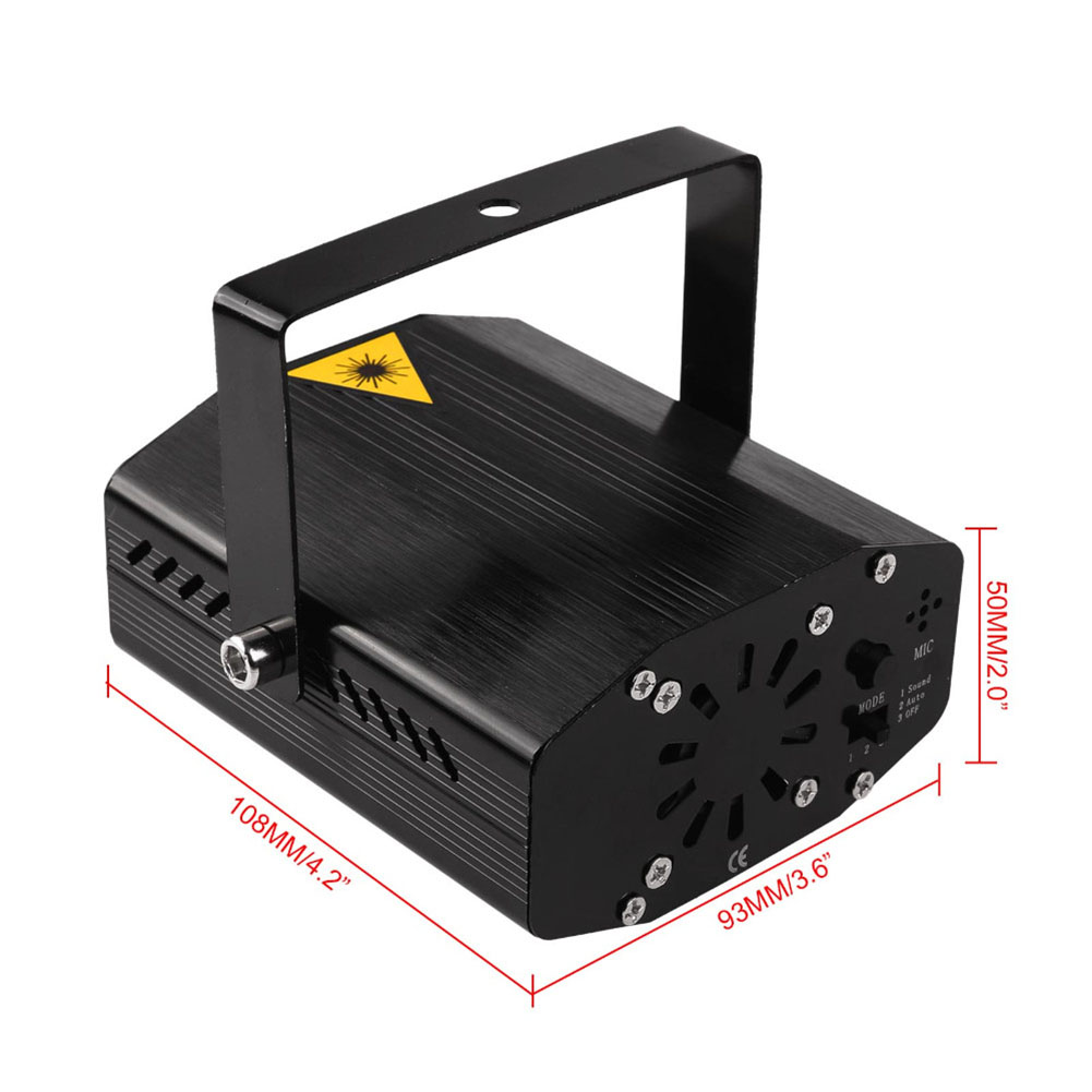 Black Starry Sky Stage Laser Light - US Plug