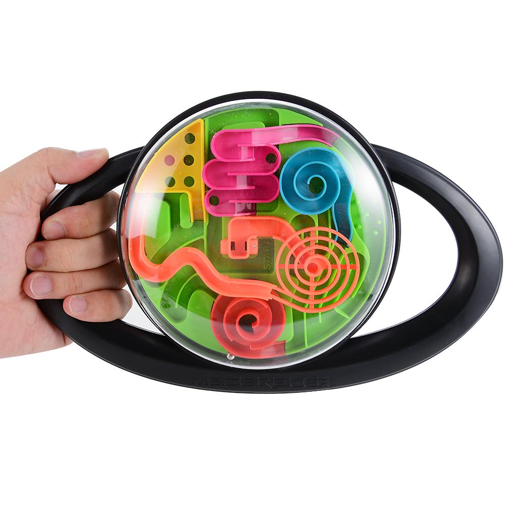 [US Direct] 3D steering wheel magic maze ball black