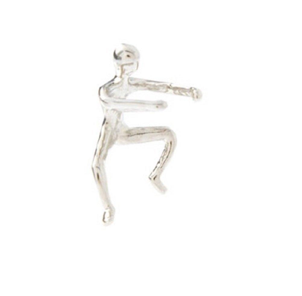 [EU Direct] Dragonpad® Gold Climbing Mam Naked Climber Ear Cuff Helix Cartilage Earring