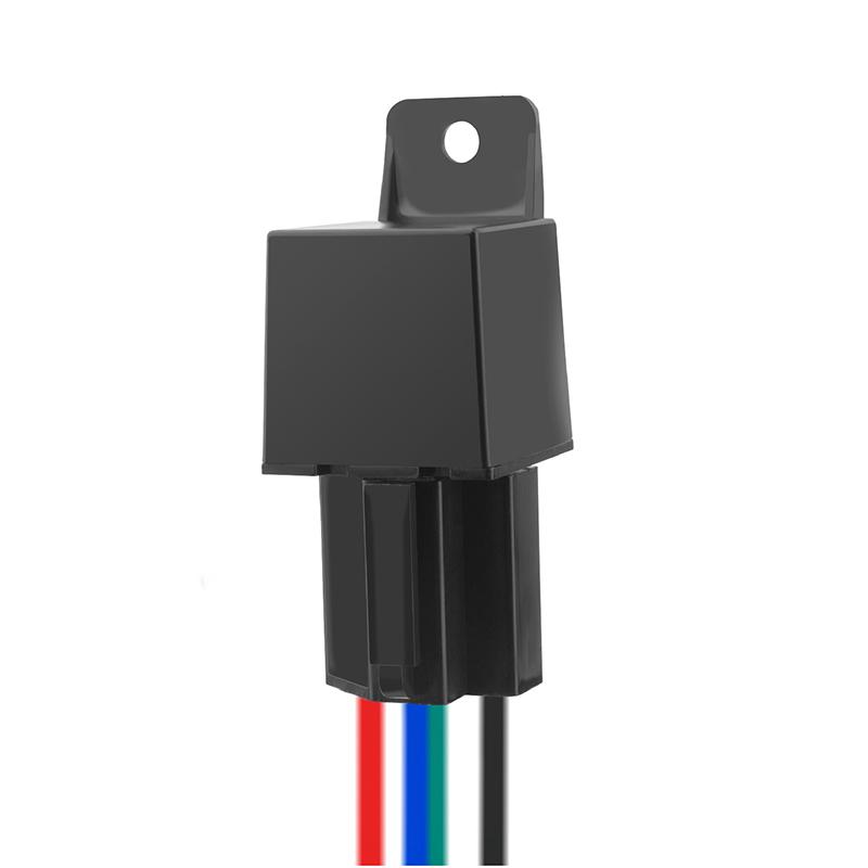 Mini Gps Tracker Car Tracker Hidden Design Cut Off Fuel Gps Car Locator black