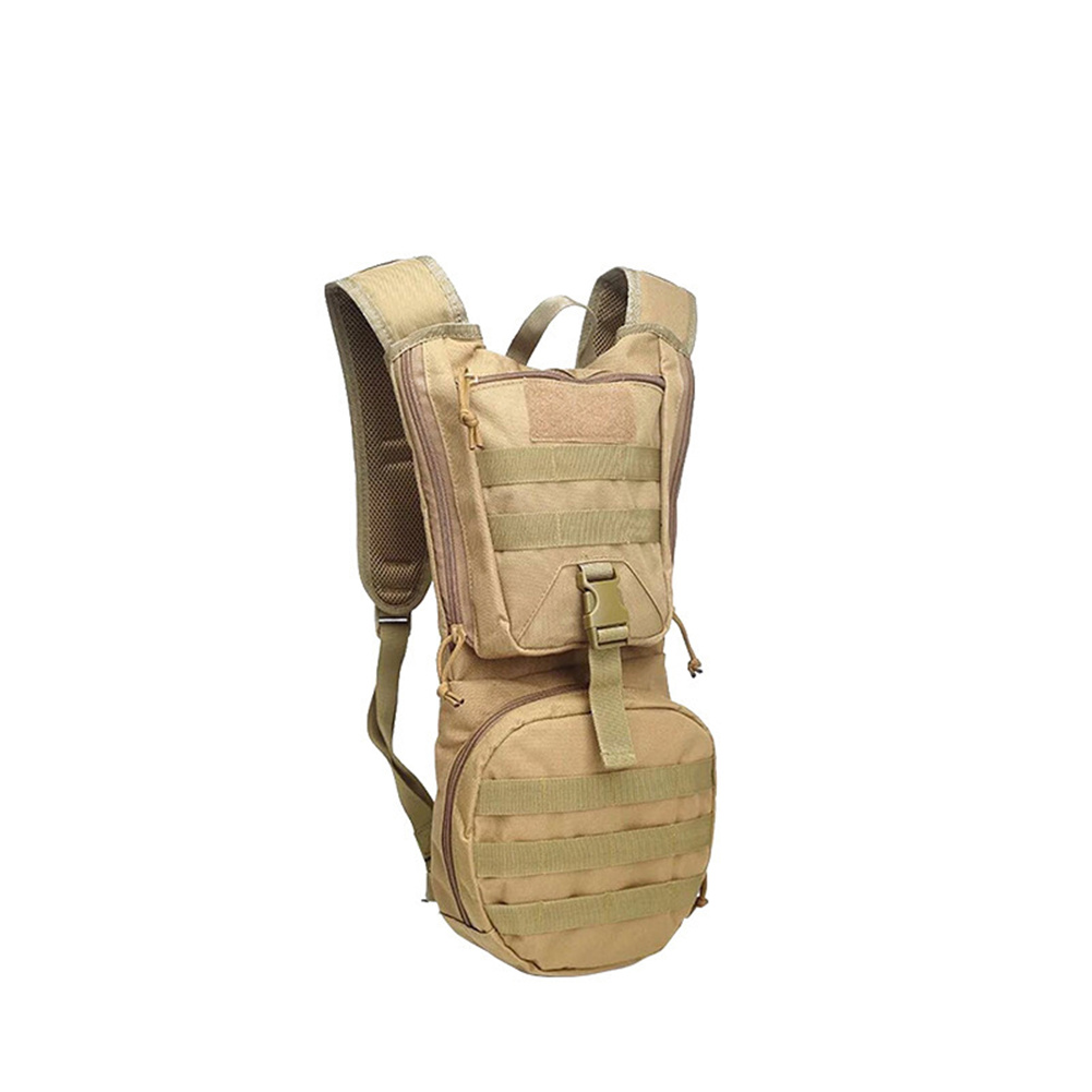 Cycling  Backpack Hydration Pouchc Ycling Water Bag For Ourdoor Activities Khaki_With liner