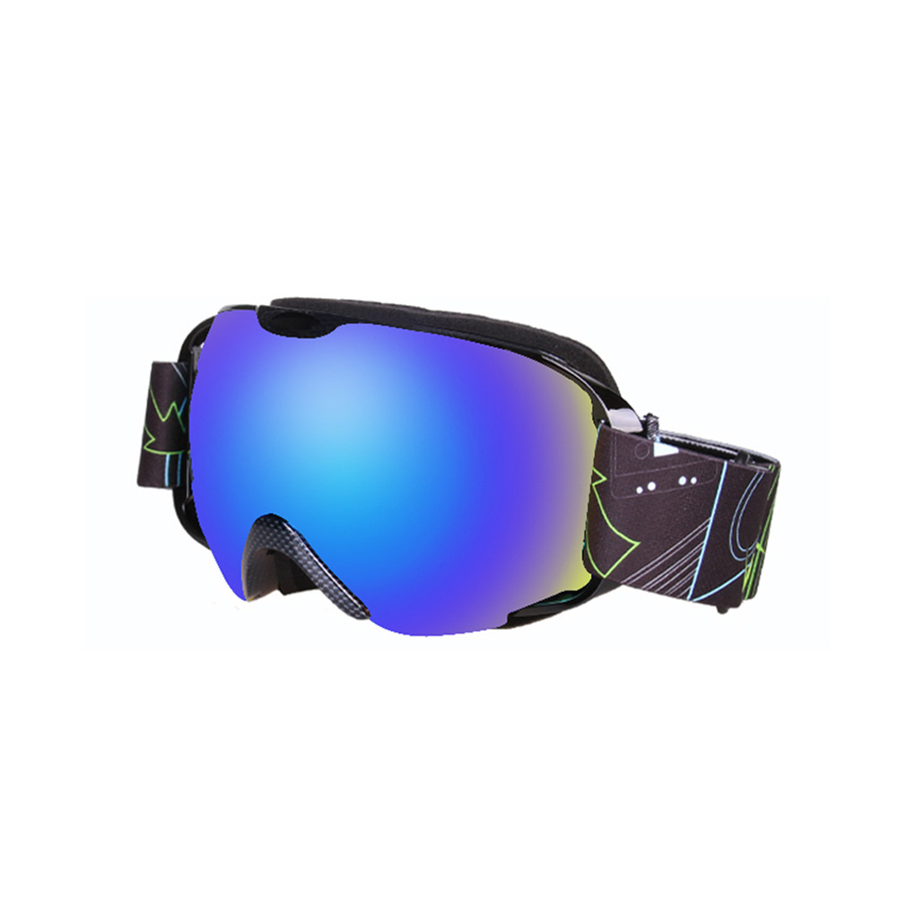 Ski Goggles Double Layer Antifog Large Spherical Snow Sports Snowboard Mountain Climbing Goggles Snake skin